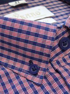 koszula w krate wrzosowa