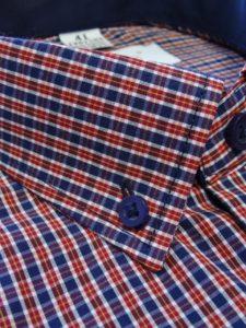koszula w krate czerwona