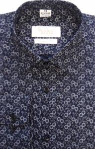 koszula czarna wzor